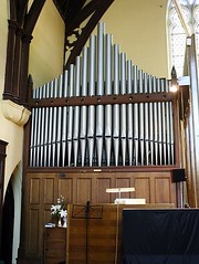 Undated. Pipes of the 1884 Walker organ, St Andrew's Anglican Church South Brisbane. (Love in a little black diary) Tags: brisbane anglicanchurch standrewsanglicanchurchsouthbrisbane southbrisbane historicbuilding heritagebuilding building queensland queenslandheritageregister