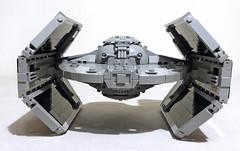 Lego Tie Advanced (SEC) (Rubblemaker) Tags: lego tie advanced starwars star wars moc jerac building blocks