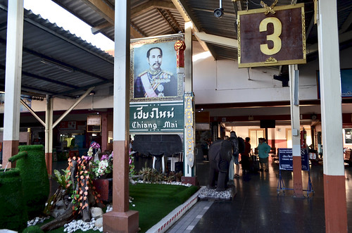 Chiang Mai railway station, Thailand
