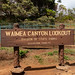 Waimea Canyon State Park Lookout, Hawaii