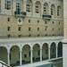 Boston Massachusetts - Boston Public Library Courtyard - Historic water fountain statue