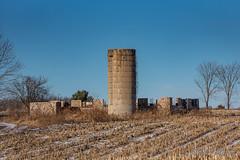 20181216-DSC_6089.jpg (GrandView Virtual, LLC - Bill Pohlmann) Tags: wisconsin stonefoundation farm abandoned rural weyerhaueserwi rustic silo
