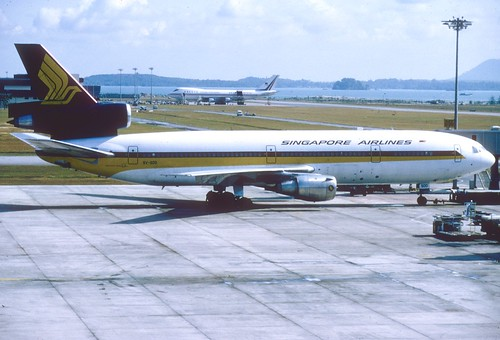 Singapore Airlines DC-10-30; 9V-SDD, March 1979