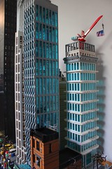The Cloud (sponki25) Tags: legonyc highrise apartments building skyscraper the cloud future economic moc living design lego