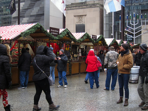 At Christkindlmarkt