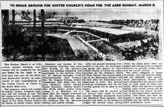 1964 - Home for the Aged planned - Whitlock - Bremen Manor - Enquirer - 5 Mar 1964
