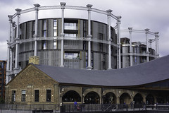 Converted (McTumshie) Tags: 20181027 coaldropsyard gasholder gassholderno8 gassholderpark kingscross london development heritage history railway retail shops