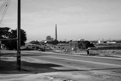 (Abel AP) Tags: town road highway pacificcoasthighway highway1 powerplant mosslanding california usa northerncalifornia smalltown rural blackandwhite bw monochrome blackandwhitephotography abelalcantarphotography