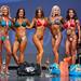 Masters Bikini - 4th Kristina Lebedoff, 2nd Angie Blanco, 1st Veronika Surmak, 3rd Yelena Yermolenko, 5th Charlynne Stunder