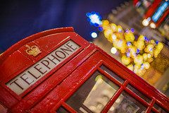 It's beginning to look a lot like christmas in London (Waterloo Place, London, United Kingdom)(Buon Natale!!!:Merry Christamas!!!) (AndreaPucci) Tags: london christmas waterloo place tree night redtelephonebox bus andreapucci