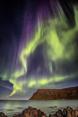 KP 9 over Iceland (kbaranowski) Tags: krzysztofbaranowski ©2017krzysztofbaranowski iceland auroraborealis geomagneticstorm corona westfjords