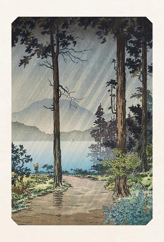 32-Carte postale // 10x15cm // Lac Hakone