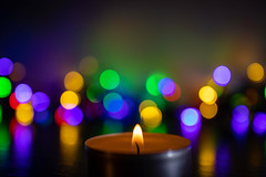 Happy New Year! (s_andreja) Tags: bokeh candle christmas newyear lights holidays colours