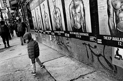 Milwaukee Ave (draketoulouse) Tags: chicago wickerpark vicmensa child boy street streetphotography blackandwhite monochrome people bw city urban outside sidewalk pedestrian