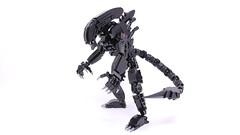 Alien Mech Suit (Mishima Productions) Tags: lego mech mechsuit legomoc legomech legomecha mishima mishimaproductions レゴ レゴブロック レゴロボ alien xenomorph