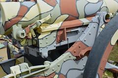 A touch of camo (radargeek) Tags: fortsill oklahoma 2018 august military gun army militarybase