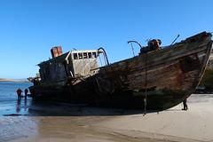 2018-102767 (bubbahop) Tags: 2018 antarcticatrip falklandislands newisland hike shipwreck
