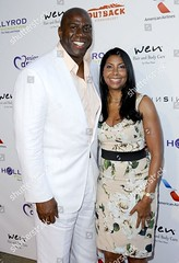 Magic Johnson (Zhanaemaxwell) Tags: 15th annual designcare benefiting hollyrod foundation los angeles america 27 jul 2013 magic johnson wife cookie earvin ex former basketball player partner husband sportsperson female male withothers personality socialite 18557804