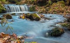 Messy Nature. (Darren Speak) Tags: langsett yorkshire waterfall nature