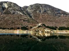 Loen -|- Loen village (erlingsi) Tags: erlingsi iphone erlingsivertsen loen nordfjord spegling reflection