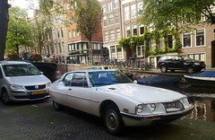 Citroën SM 3.0 Automatic 'US Spec' (Skylark92) Tags: nederland netherlands holland noordholland northholland amsterdam centrum centre citroën sm 30 automatic us spec 73yb08 1973