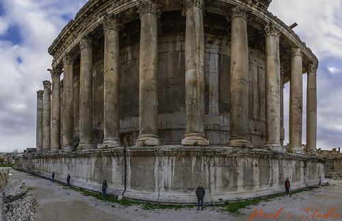 Bachus Temple Baalbek, Lebanon
