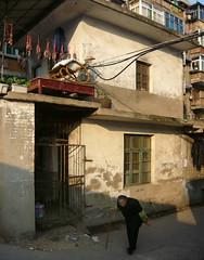 Being Old (Wolfgang Bazer) Tags: hefei anhui china underclass neighbourhood neighborhood unterschichtenviertel unterschicht wanderarbeiter wanderarbeiterviertel being old alt sein alter 乡下人 migrant workers