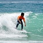 Surfing at Praia do diabo thumbnail