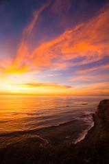 Last Sunset in daylight savings time at Point Vicente, CA (tom@f) Tags: landscape nature socal california ca usa us unitedstates unitedstatesofamerica sony nex nex5t apsc emount mirrorless sel1018widewideangle