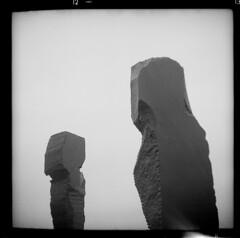 Dodekalitten (tiltdesign2016) Tags: dodekalitten ilfordilfosol319 ilfordhp5400asa 400800 analogphotography bw adoxgolf63 dänemark denmark skulptur canoncanoscan9000f mittelformat