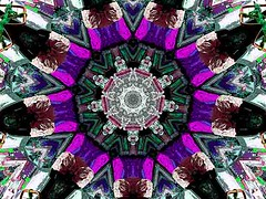 Moral Compass (Kombizz) Tags: c34 kombizz kaleidoscope experimentalart experimentalphotoart photoart epa samsung samsunggalaxy fx abstract pattern art artwork geometricart purple green black brown red white moralcompass moral compass colorfulmoralcompass