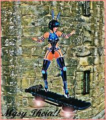 fly to you!! (MysyTheia (MysteryHot Resident)) Tags: cyber bunny luas mesh maitreya blue black sexy hover fly bento cute