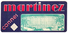 Martinez Hotel Luggage Label Cannes, France (thstrand) Tags: 1920s 1930s 1940s 19thcentury 20thcentury adventure advert advertise advertisement advertising alpesmaritimesdepartement brightcolors business cannes color colorful colors comfort europe european famous france french frenchriviera geographycountries graphicarts graphicdesign green historic history historyoftravel hotel hotels labels luggagelabel luxury martinez nobody purple red rich steamertrunks sticker stickers suitcase suitcases text tourism touristdestination transport transportation travel traveldestinations trunk trunks type vacation vacations wealth roaring 20s