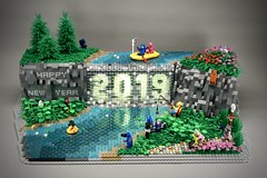Lego Happy New Year 2019 (Pasq67) Tags: moc lego pasq67 afol toy toys flickr legography 2019 france minifigs minifig minifigure minifigures happynewyear happy new year bonneannée bonne année hedwig captainamerica captain america batman thejoker thepenguin the joker penguin jawa bb8 darthvader darth vader r2d2 benny lenny homer gingerbreadman gingerbread man grandmother thewolf wolf reconrexosaurus recon rexosaurus brickpirate