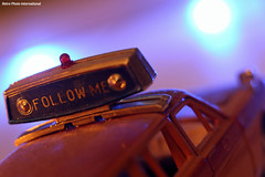 Follow Me (Retro Photo International) Tags: follow me aeroflot transportation airport car diecast 143 gaz 24 volga carlzeissjena tessar 50mm 35 macro macromondays bokeh redux 2018