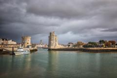 La Rochelle (Mirarmor) Tags: ville architecture port eau france bateaux bâtiment ciel nuages paysages tour