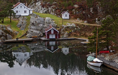 view from justøya bridge (gormjarl) Tags: ngc justøya lillesand agder norway