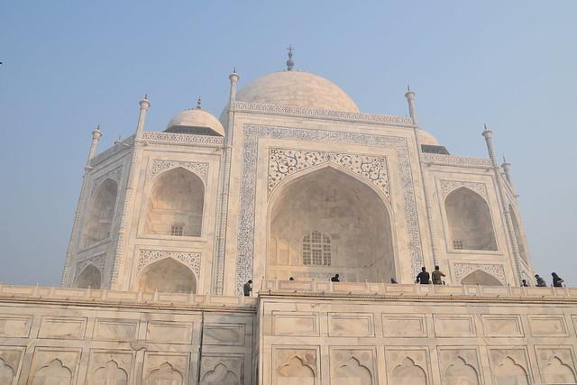 Getting Close to the Taj