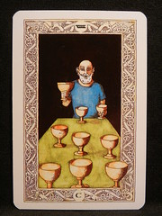 Nine of Cups. (Oxford77) Tags: tarot thenorsetarot norse viking vikings cards card tarotcards