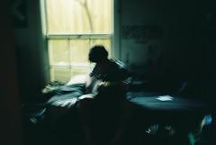 Bedroom expression (homesickATLien) Tags: 35mm art kodak film expired analog mjuiii olympus melbourne victoria australia suburbia bedroom expression