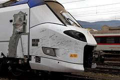 """Un """"pop"""" autografato (Ernesto Imperato - Firenze (Italia)) Tags: pop etr104 hitachi trenitalia elettromotrice firenze castello canon eos 7d"""