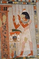 Menna in TT69 (konde) Tags: 18thdynasty newkingdom tt69 menna stele stela tomb sheikhabdelqurna luxor thebes art ancientegypt hautamaalaus mythology tombpainting offering hieroglyphs