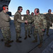 South Carolina National Guard Command Sgt. Maj. Russ Vickery visits McEntire JNGB
