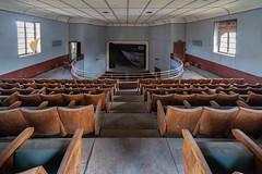 KV9A2463-HDR-1_DxO (wernkro) Tags: cinemablue italien krokor lostplace urbexen theater cinema stühle bühne hdr