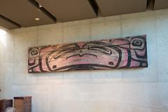 Aboriginal wall panel (quinet) Tags: 2017 aborigène britishcolumbia canada firstnations kunst museumofanthropology ubc ureinwohner vancouver westcoast aboriginal art indian museum musée native northwest
