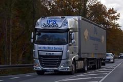 "DAF XF116 "" International Palleten Service "" (D) (magicv8m) Tags: daf tir trans transport lkw"