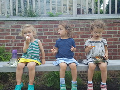 Snack Time (milfodd) Tags: july 2018 mobile phaedra fay friends kate elly