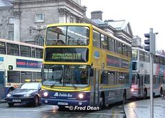 Dublin Bus AV147 (00D70147). (Fred Dean Jnr) Tags: april2005 dublin dublinbus busathacliath dublinbusyellowbluelivery volvo b7tl alexander alx400 collegegreendublin dbrook 00d70147 dublinbusroute11b av147 x49uao