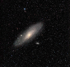 Galaxy M31 in Andromeda (John Frattura) Tags: m31 astronomy astrophotography galaxy messier andromeda sky stars space canon november 2018 fall night