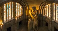 Between the windows (HWW) (KPPG) Tags: leipzig statue denkmal monument deutschland germany hww windows fenster völkerschlachtdenkmal cof052mari cof052dmnq cofo52ksen cof052anke cof052chri cof052mvfs cof052stan cof052biz